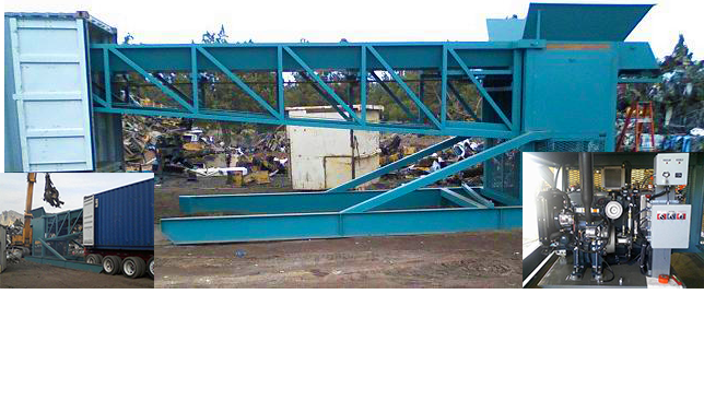 Container Loading Conveyor - Rose Machinery